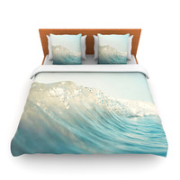 "Bree Madden ""The Wave"" King Fleece Duvet Cover - Outlet Item"