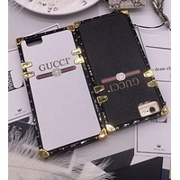 Gucci  phone case shell  for iphone 6/6s,iphone 6p/iphone 6sp,iphone 7/8,iphone 7p/8p