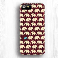Elephant IPhone 5 case, Full Wrap IPhone case,unique iPhone 5s case,IPhone 5c case,wood IPhone 4 case,IPhone 4s case