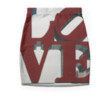Love Philadelphia Sculpture Pencil Skirt by Christine aka stine1 on Redbubble