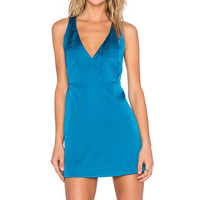 C/MEO Swing Away Dress in Teal