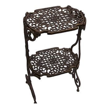 Oakland Living Lattice Plant Stand - Outdoor