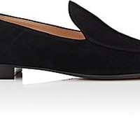 Gianvito Rossi Marcel Suede Loafers | Barneys Warehouse
