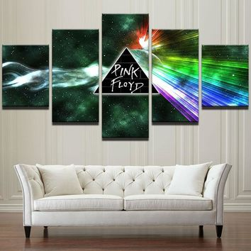 Pink Floyd Prism Wall Rock Music Painting Wall Art For Living Room Decor