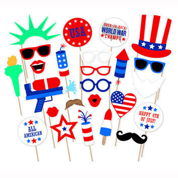 American party \ National Day cheering celebration supplies camera props [11550524815]