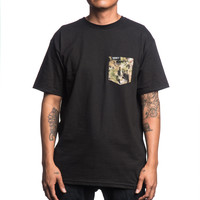 SPACE CAMO POCKET TEE – HONEY BRAND