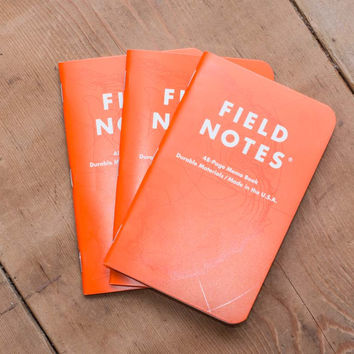 Expedition Field Notes Memo Books (Set of three)