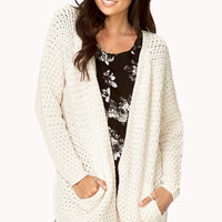 Easy Open-Front Cardigan