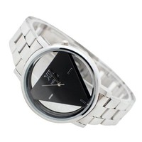 jeansian Women's Wrist Watch Fashion Stainless Steel Band ZWD001