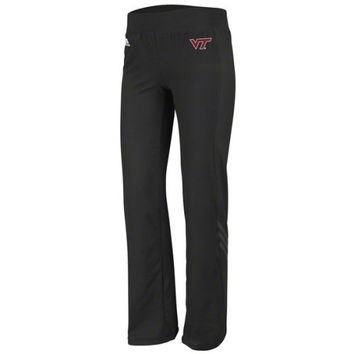 adidas Virginia Tech Hokies Black Women's Primary Logo Training Pants
