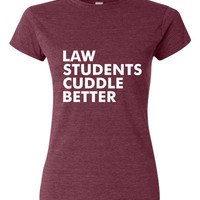 Law Students Cuddle Better