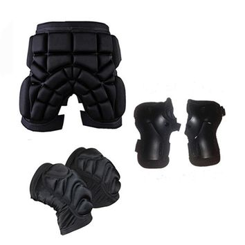 Skateboarding Shorts Child Sport Racing Skiing Safety Protective Motorcycle Snowboard Skating Roller Armor Pad Hip Protector Q17