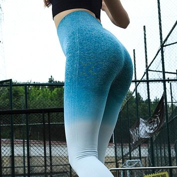 OMBRE Fitness and Yoga Compression Pants