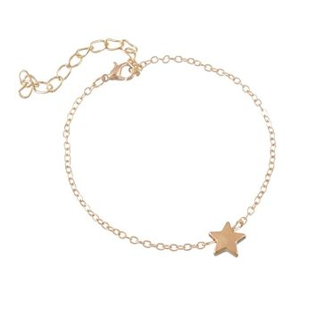 Five-Pointed Start Pentagram Bracelet