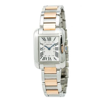 Cartier Tank Anglaise quartz womens Watch W5310036 (Certified Pre-owned)