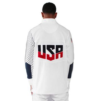 ONETOW Entree Olympic Warm-Up Jacket In White