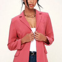 Best of Me Berry Pink Blazer
