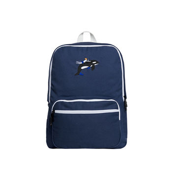 Youth and Whale Backpack