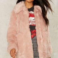 Jakke Tammy Faux Fur Coat