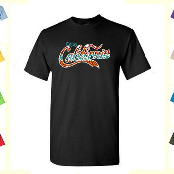 Enjoy California Indian Native American Theme Tee