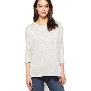 Alternative Amelie Linen Jersey 3/4 Sleeve T-Shirt