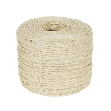 3m Sisal Rope For Cats Scratching Post Toys Making Diy Desk Foot Stool Chair Legs Binding Rope Material For Cat Sharpen Claw