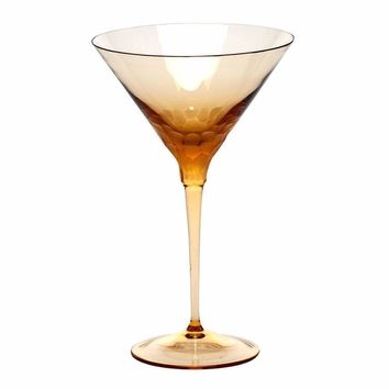 Pebbles Martini Glass - Available in 9 Colors