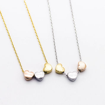 3 hearts necklace