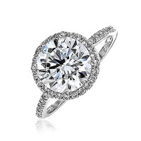 Bling Jewelry Chichi Round CZ Ring