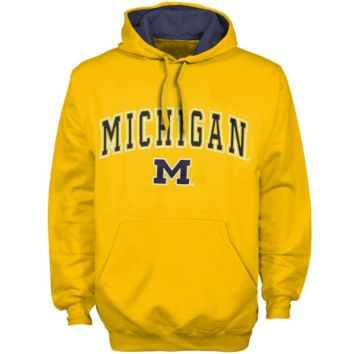 Michigan Wolverines Maize Automatic Hoodie Sweatshirt