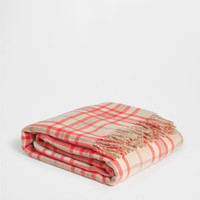 CHECKED WOOL BLANKET - Throws - Bedroom | Zara Home United States