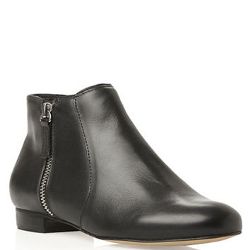 Dune London Pandaz Leather Ankle Boots