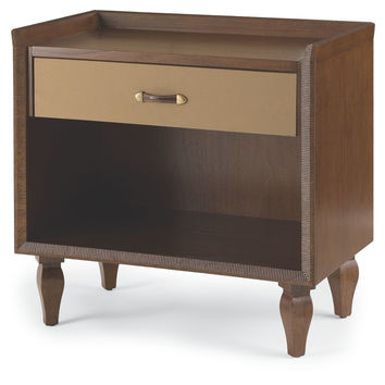 Campaign Canvas Nightstand, Khaki, Nightstands