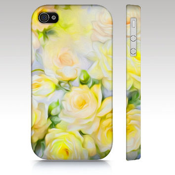Floral iPhone case iphone 5 iphone 4s  vintage by RoveStudio
