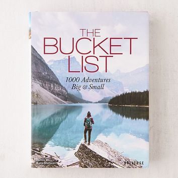 The Bucket List: 1000 Adventures Big & Small By Kath Stathers | Urban Outfitters