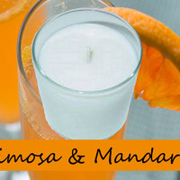 Mimosa and Mandarin Scented Candle in Tumbler 13 oz