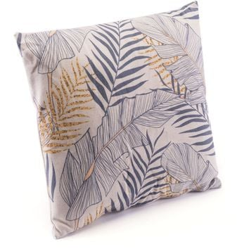 Tropical Gray Pillow