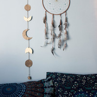 Moon Phase Metal Wall Hanging