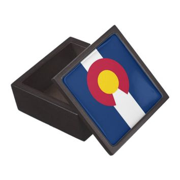 Colorado State Flag Premium Gift Box