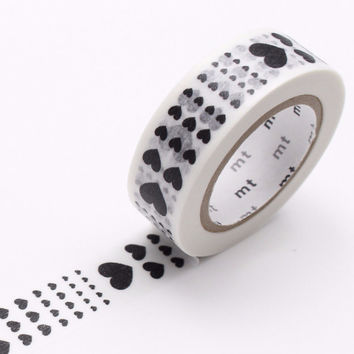 mt Washi Tape Single Heart Scale