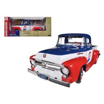 1956 Ford Pick-up Truck F-100 Pepsi Cola Limited to 1250 pc Worldwide 1-18 Diecast Model Car by Autoworld