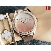 GUESS Popular Woman Men Movement Watch Watches Wrist Watch 1#