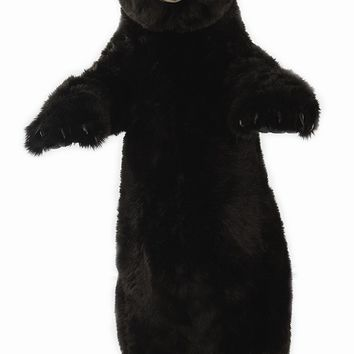 Hansa Standing Upright Black Bear Stuffed Animal