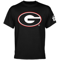 Georgia Bulldogs Back to Basics T-Shirt - Black