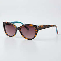 Anthropologie - Color-Backed Betty Sunglasses