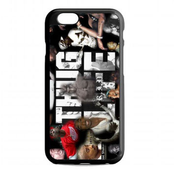 2pac tupac, THUG LIVE For iphone 6s case
