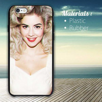 marina and the diamonds iPhone 4/4S, 5/5S, 5C, 6 Series Hard Plastic Case