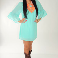 For One Night Dress: Mint | Hope's