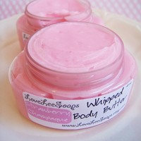 Strawberry Champagne Whipped Body Butter (4 oz.)