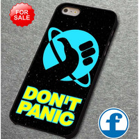 Hitchhiker's Guide To The Galaxy Don't Panic    for iphone, ipod, samsung galaxy, HTC and Nexus PHONE CASE